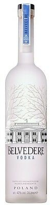 Belvedere `Pure` Vodka (1 x 3L), Poland.