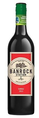Banrock Station Shiraz 2015 (6 x 750mL), SA.