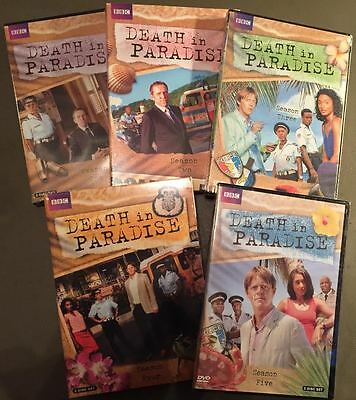DEATH IN PARADISE Seasons 1-5  Bundle  DVD   Brand New & Factory Sealed