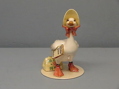 Retired Hagen Renaker Specialty Mother Goose