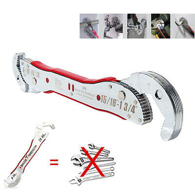 """9-45mm Adjustable 15/16""""-13/4"""" Magic Wrench Multi Purpose Functional Spanner"""