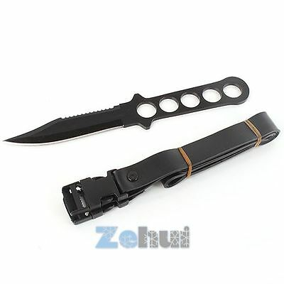 Stainless Steel Diving Knives Scuba Outdoor Hunting Fixed Blade Survival Knife