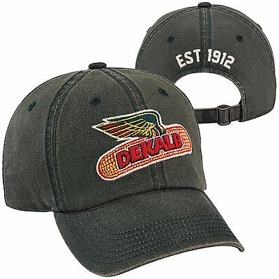 DEKALB SEED *Green Laundered Cotton* Logo CAP HAT *BRAND NEW* DS30
