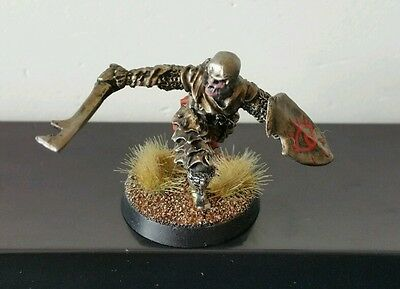 Morannon Orc Captain Pro Painted metal model LOTR The Hobbit Scarce OOP