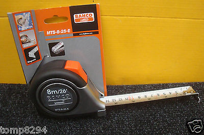 Special Offer Bahco Mts 8 25 E 8M/26' Tape Measure Stainless Steel