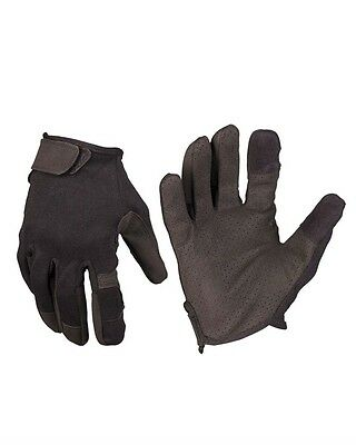 Einsatzhandschuh Touch schwarz, Security, Outdoor, Military         -NEU-