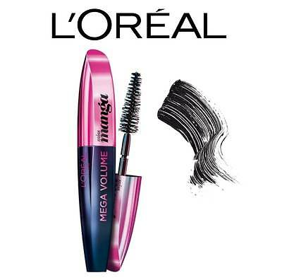 L'oreal Mega Volume Miss Manga Black Mascara **brand New & Sealed**