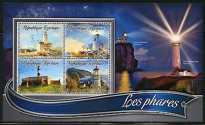 Togo 2016 Lighthouses Sheet Mint Nh
