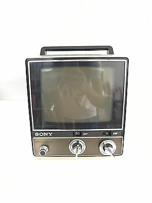 Vintage SONY Transistor TV Receiver TV-780!  Works Great! Precious!
