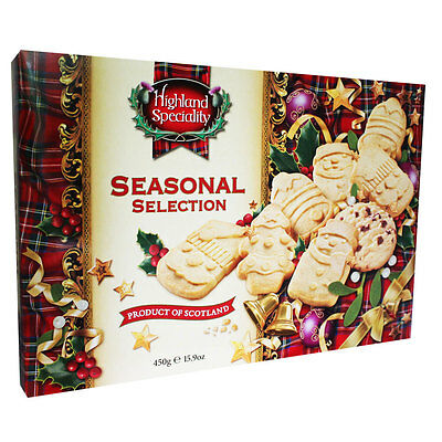 Seasonal Shortbread Selection, Gift Categories, Brand New
