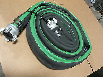 """Wastewater 24' 2"""" WATER DISCHARGE HOSE MAX PRESS. 100PSI P/N A-A-59567-3-1-32-02"""