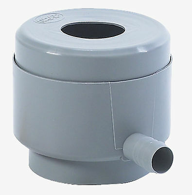 Garantia Water Butt Filling Device With Overflow Stop Downpipe Rainwater Filter