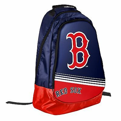 Boston Red Sox BackPack / Back Pack Book Bag NEW - TEAM COLORS Core Stripe