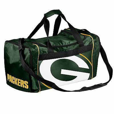 Green Bay Packers Duffle Bag Gym Swimming Carry On Travel Luggage Tote NEW