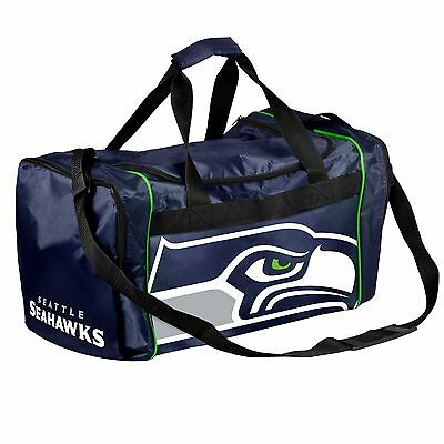Seattle Seahawks Duffle Bag Gym Swimming Carry On Travel Luggage Tote NEW