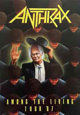 Anthrax - Among The Living Tour 1987 (Programme) (Ex)