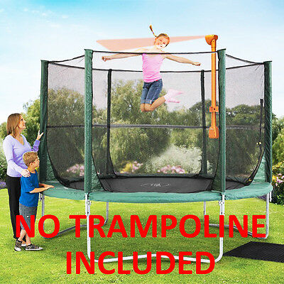 Trampoline Accessory Game Instructor Plum Outdoor Interactive Bounce Children