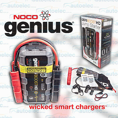 Noco Genius Boost 12V Mini Jump Starter Booster 2000A Max Gb70 Phone Power Pack
