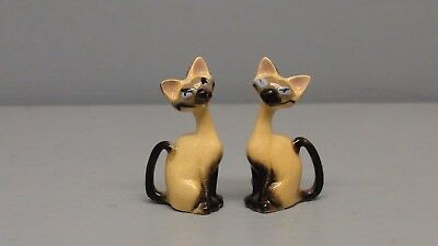 Hagen Renaker Disney Si & Am Siamese Cats from Lady & The Tramp