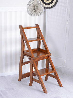 LIBRARY CHAIR STAIR VINTAGE DIRECTOR Head of the Multi height highchair