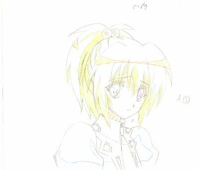 Anime Genga not Cel Strawberry Panic #60