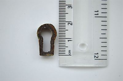 Original Antique Brass Furniture Escutcheon Keyhole Key Hole Rz21