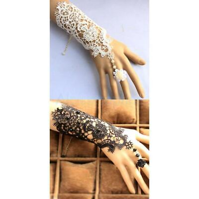 Wedding Bridal Lace Fingerless Gloves Formal Prom Pageant party Accessories