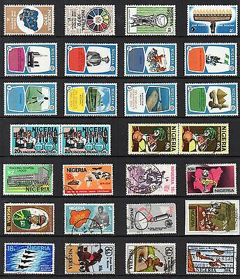 NIGERIA Stamp Collection MINT USED Ref:QC658