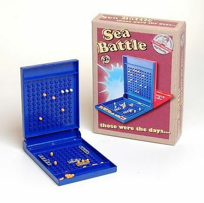Ackerman Sea Battle by Prof. Warbles Traditional Family Retro Skill Travel Game