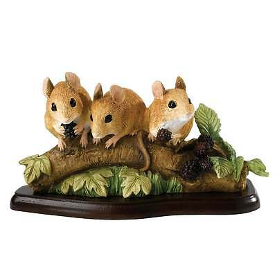 Border Fine Arts Mammals Collection Family Outing Mice Figurine New Boxed A27056