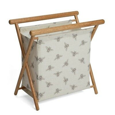 Large Flying Buzzy Bees Wooden Premium Knitting Frame Bag Knit-Sew