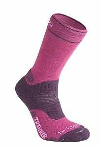 Bridgedale WoolFusion® Trekker Wmns (Cuped™) Berry w.Med 6556/352