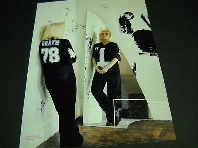 BLONDIE Debbie Harry looks in the mirror 2014 photo image PROMO POSTER AD