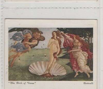 #3 The Birth Of Venus - Italian Art Exhibition 1930 A Card