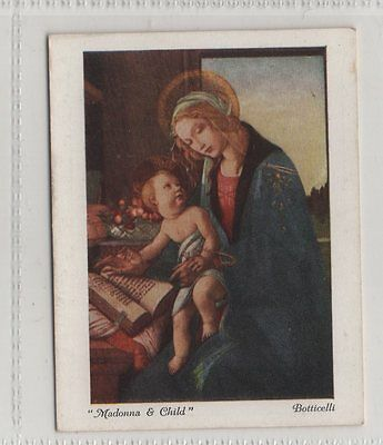 #5 Madonna And Child - Italian Art Exhibition 1930 A Card