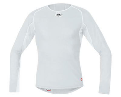 Gore Bike Wear Windstopper Base Layer Thermo Long Shirt (Light Grey)