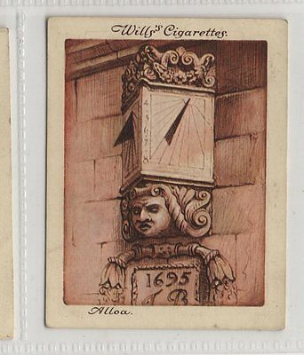 #12 Sundial At Alloa, Scotland - Old Sundials Card