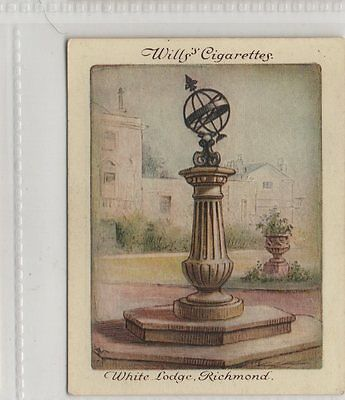 #23 Sundial At White Lodge, Richmond - Old Sundials Card