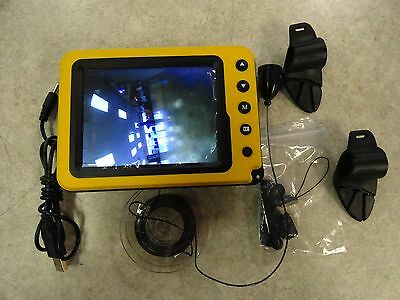 """Aqua-Vu Micro 5C Underwater Fishing Camera 5"""" Color LCD IR with 50ft Cable"""