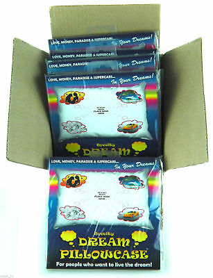 Wholeasle Job Lot of 12 x Novelty Dream Pillow Case Gift Item - NEW
