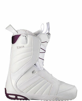 43072bb84e5c SALOMON KIANA WHITE Womens Snowboard Boots Size 6.5 cm 24 UK 5 EUR38 ...