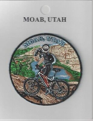 Souvenir Patch - Moab National Park Utah - Mountain Biker.