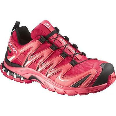 TRAIL RUNNING shoes Women's SALOMON XA PRO 3D GTX W woman Lotus Pink