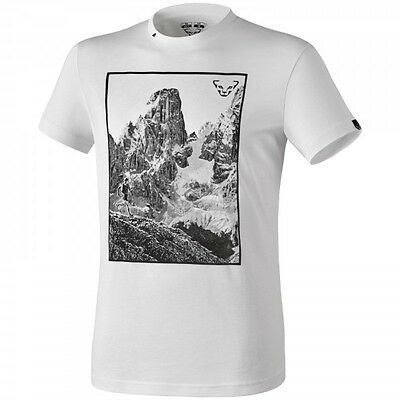 Camiseta de hombre Dynafit First Track Co M S/s Tee color White vertical