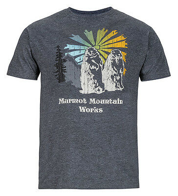 Men's T-shirt Marmot Heritage Tee SS color Characoal heather