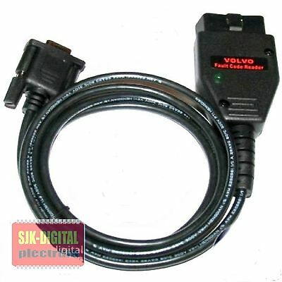 +++ Obd2 Rs232 Volvo Diagnose Interface Fcr S40 S70 S90 C70 V40 V70 V90 800 +++