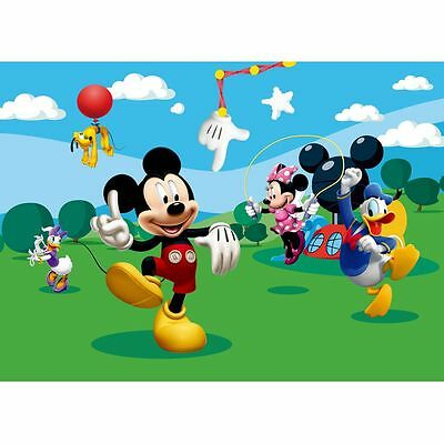 Disney Mickey Mouse & Friends Wall Mural Kids New Free P+P