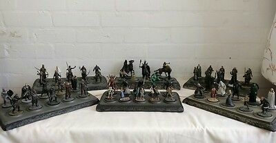 Lord of the Rings Eaglemoss NLP Metal Figures - 180 to choose from - List 2/3