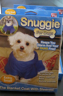 WHOLESALE LOT OF 8 SNUGGIE FOR DOG PET supplies Jacket Sweater Extra Small coat