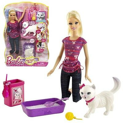 Barbie - Potty Training Blissa Kitty Doll with Accessories